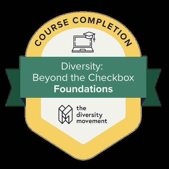 The Diversity Movement Badge